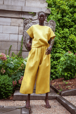 rhie dia double satin yellow west village clothing