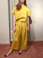rhie double satin yellow ensemble west village boutique