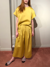 rhie boutique in the west village nyc double satin yellow clothing