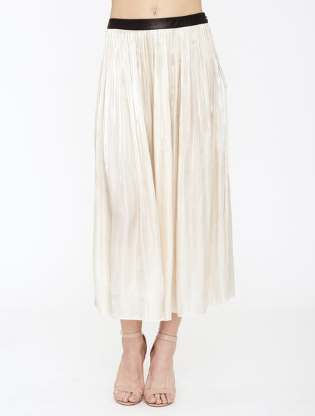 RHIE MINA PLEATED SKIRT