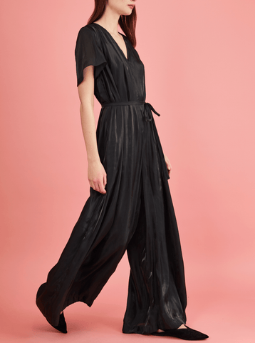 SONJA JUMPSUIT, BLACK