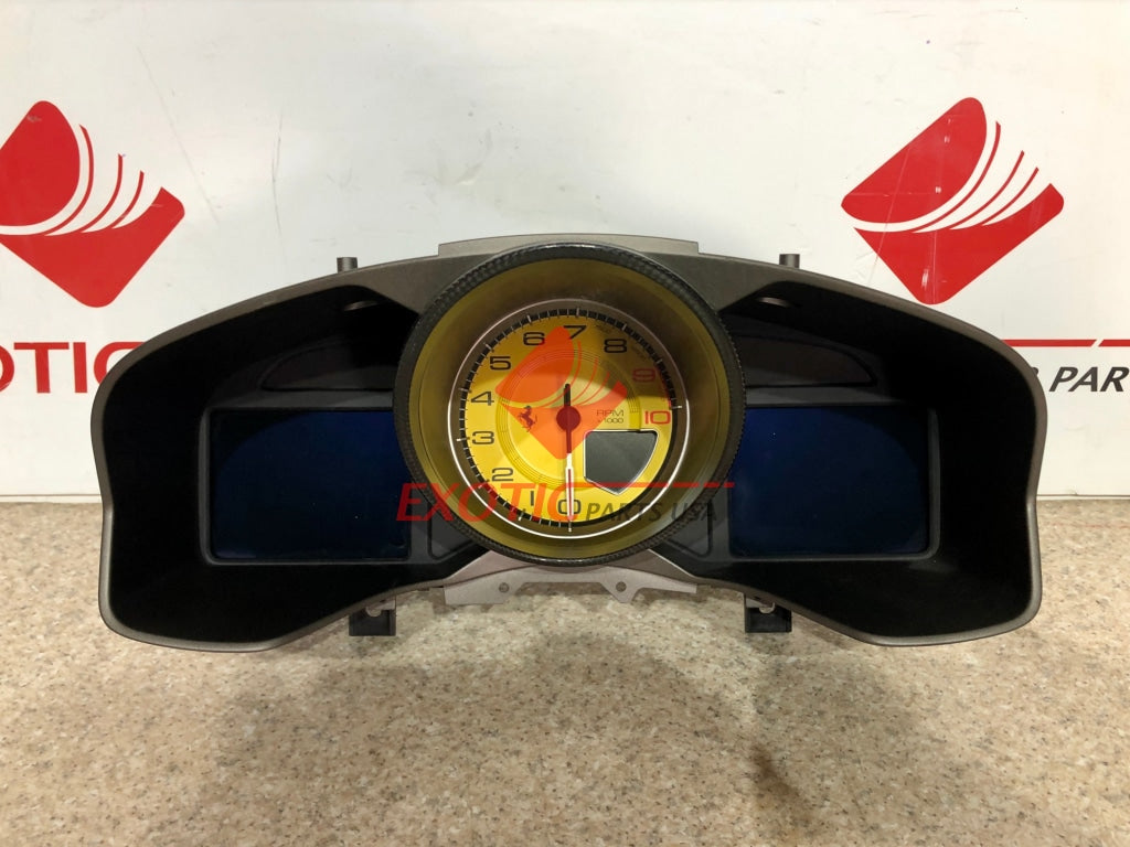 Ferrari F12 TDF instrument panel