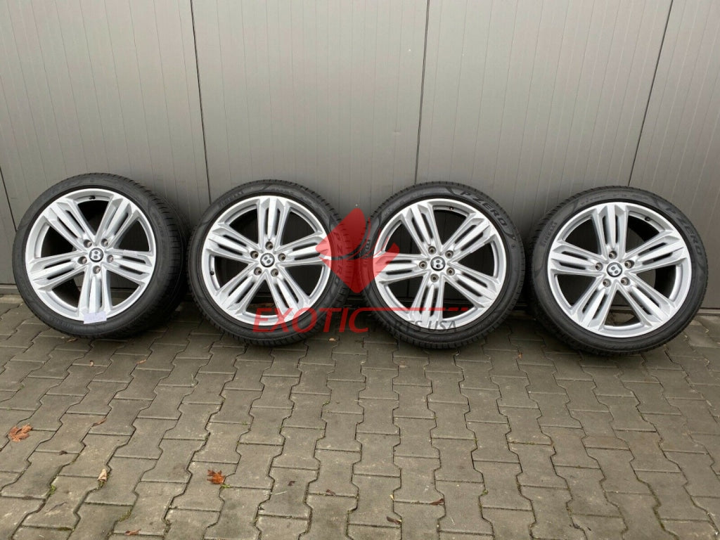 Bentley NEW CONTINENTAL GT wheels set, wheels set 21 inch