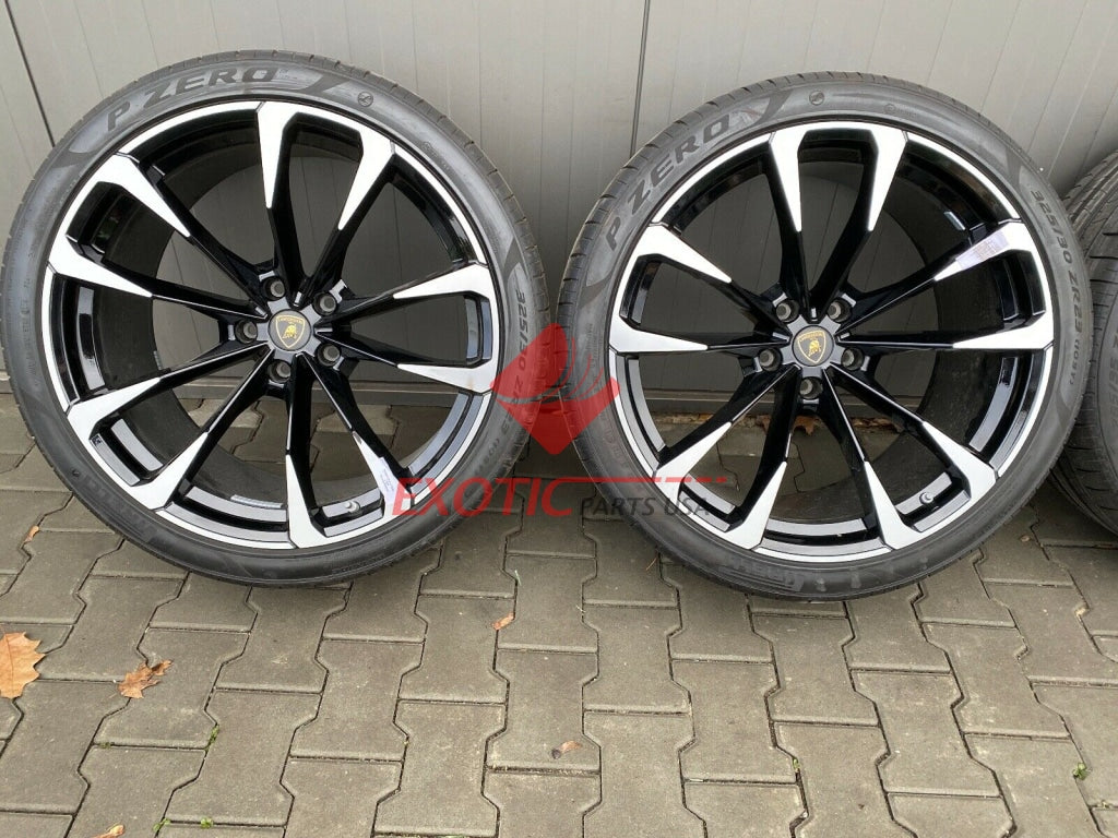 Lamborghini URUS, wheel set 23 inch, Part number: 4ML601025AS
