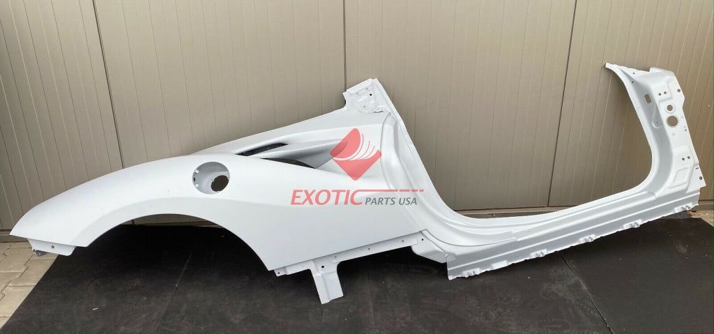 Ferrari F8 Tributo Spider Right side Flank , side wall Part number: 985855308