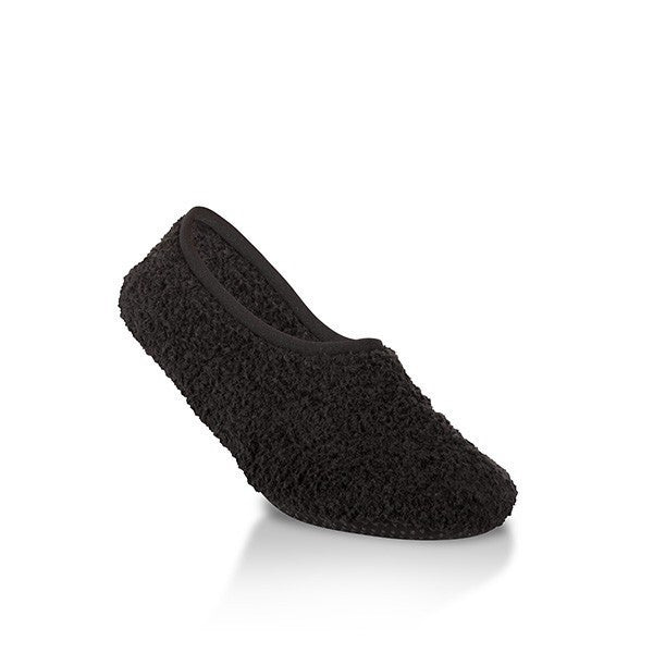 Black Cozy Slippers