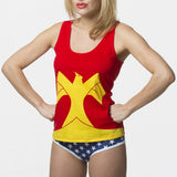 DC Comics Wonder Woman Juniors Underoos Tank Set