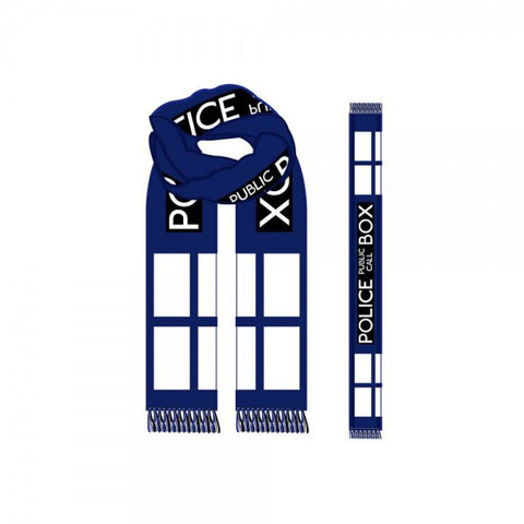 Dr. Who Jacquard Scarf