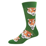 eye of the tiger sock