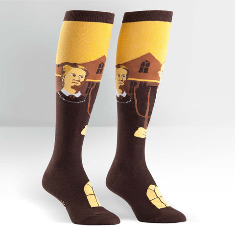 American Gothic Knee Highs