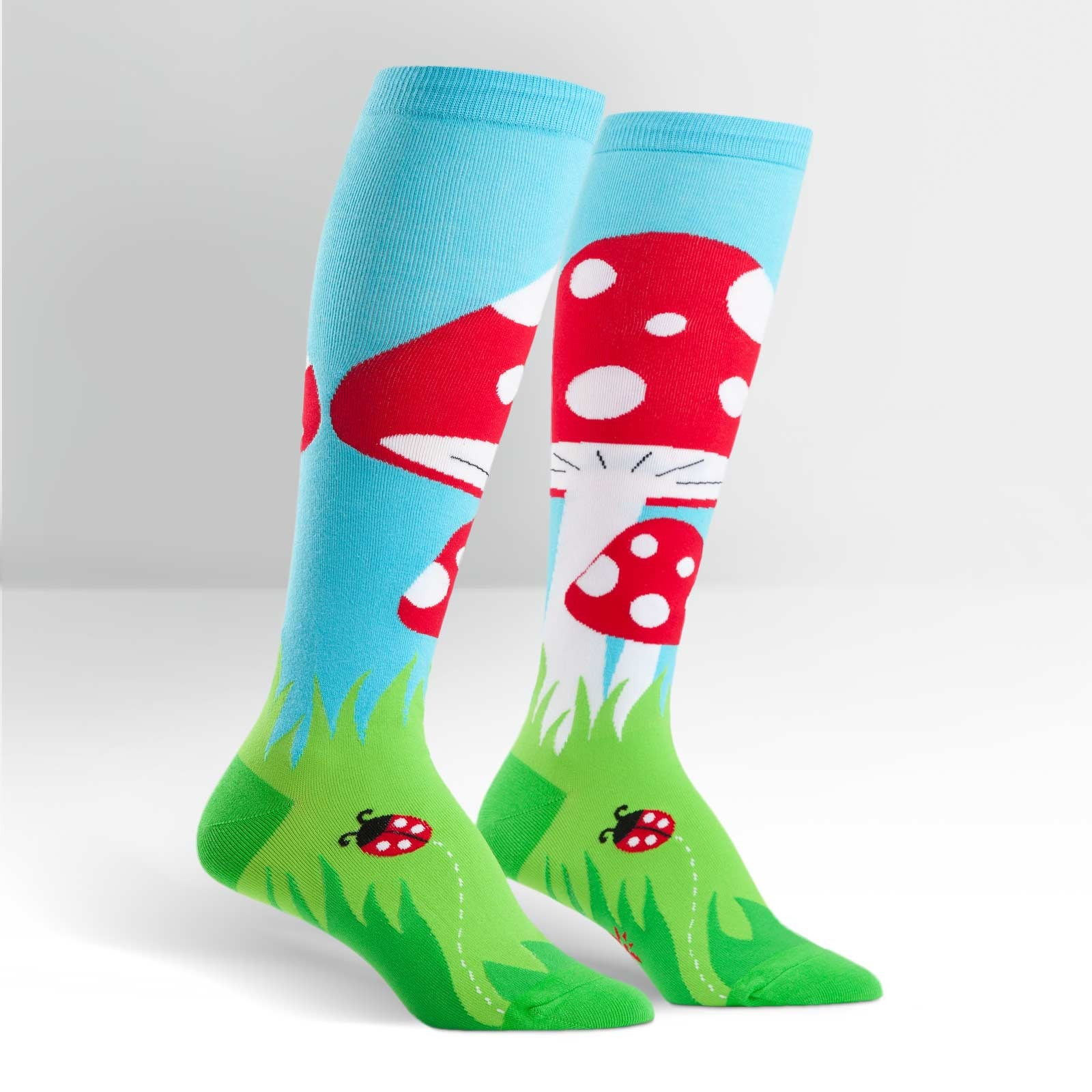 Toadstool Knee Highs