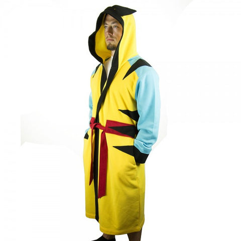 Marvel Wolverine Hooded Character Robe with Belt