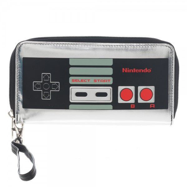 Nintendo Controller Large Zip Around Wallet
