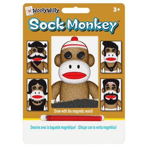 Sock Monkey Wooly Willy