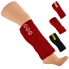 Crocheted Leg Warmers - Made in Brooklyn!
