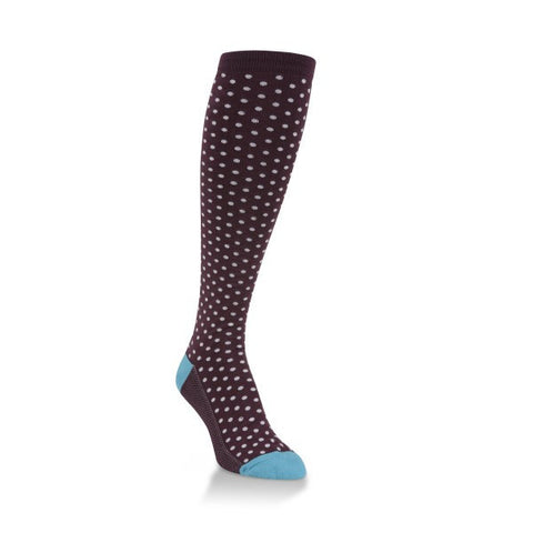 Pin Dot Knee Highs