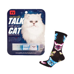 Crazy Cat Gift Set