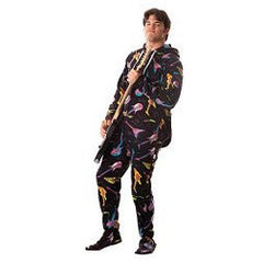 Electric Guitars Adult Footed Pajamas