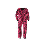 Kids' Pink Tiger Footed Pajamas