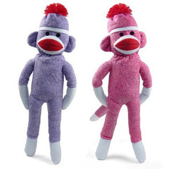 Colorful Sock Monkey
