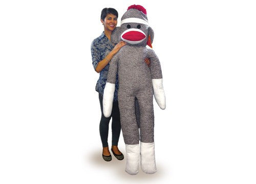 The Biggest Sock Monkey Ever