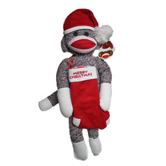 Christmas Stocking Sock Monkey