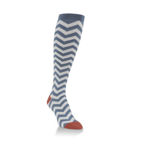 Chevron Knee Highs