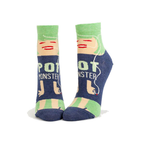 Pot Monster Ankle Socks