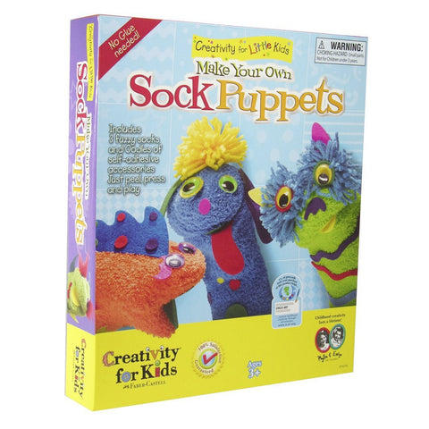 My First Sock Puppet Kit