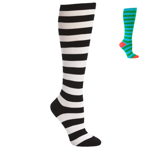 Classic Striped Knee Highs