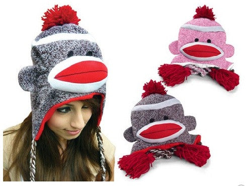 Sock Monkey Hat