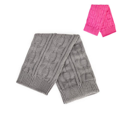 Kids' Cable Knit Leg Warmers