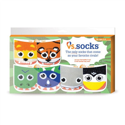 Animalistic Frenemies Slipper Socks - 3 Pack