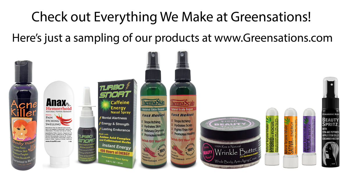 Greensations health and beauty