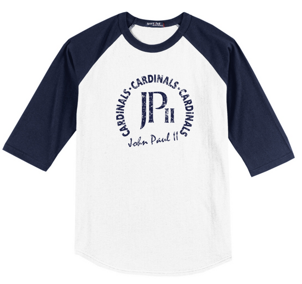 Raglan 3/4 Sleeve Shirt - 2 Logo's Available