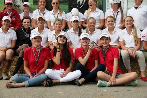Red Scarf Equestrian Proudly Sponsors 2014 NAJYRC Ontario Dressage Team