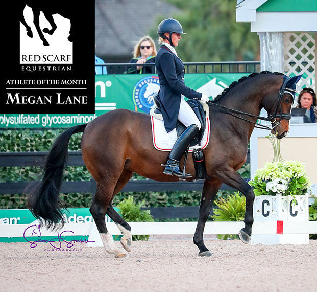 MEGAN LANE - DRESSAGE ATHLETE OF THE MONTH FEBRUARY 2018