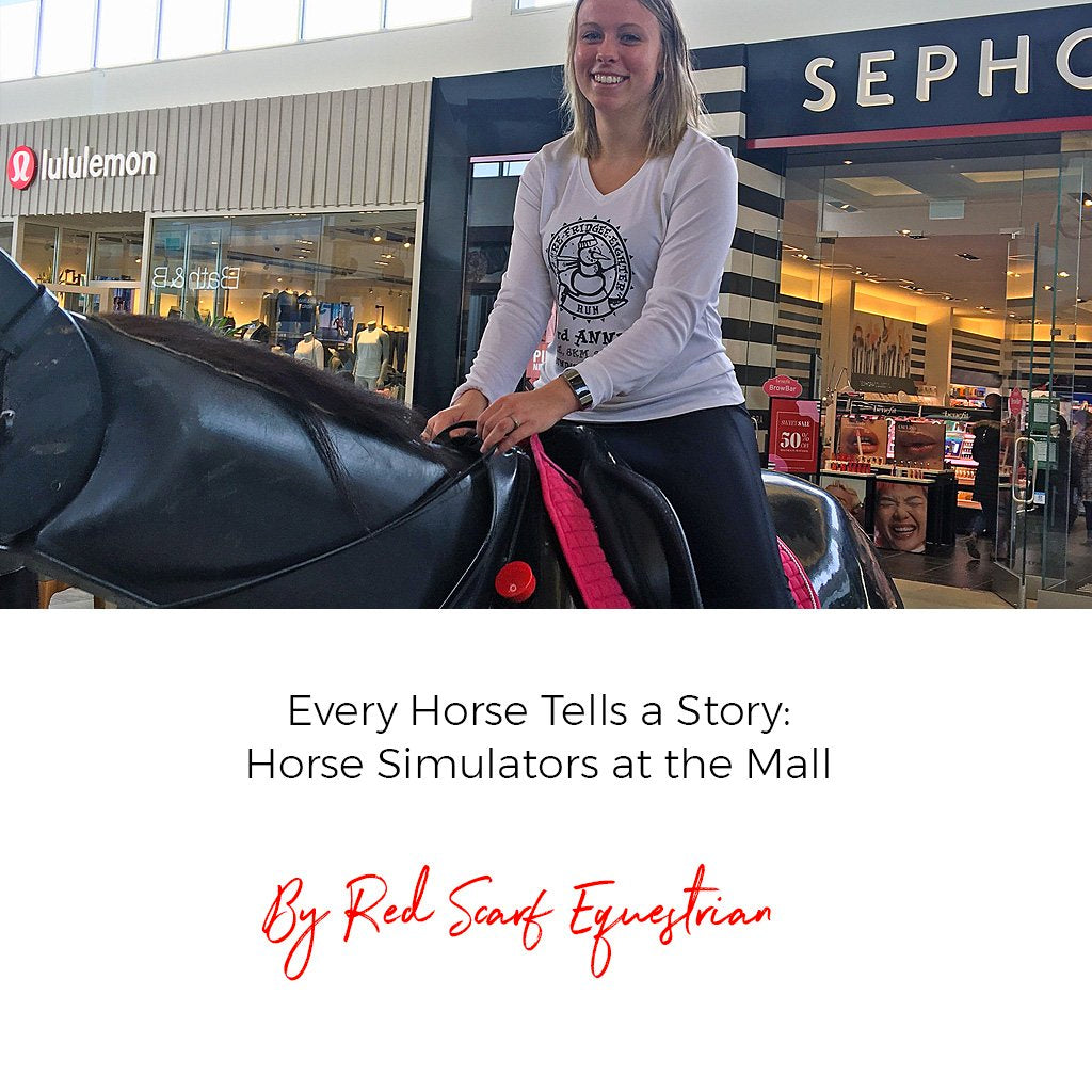 Every Horse Tells a Story: Horse Simulators at the Mall