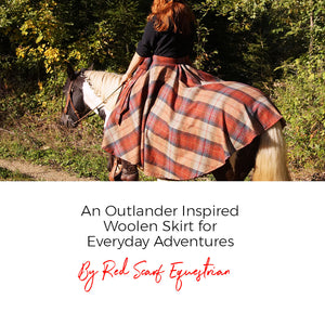 An Outlander Inspired Woolen Skirt for Everyday Adventures