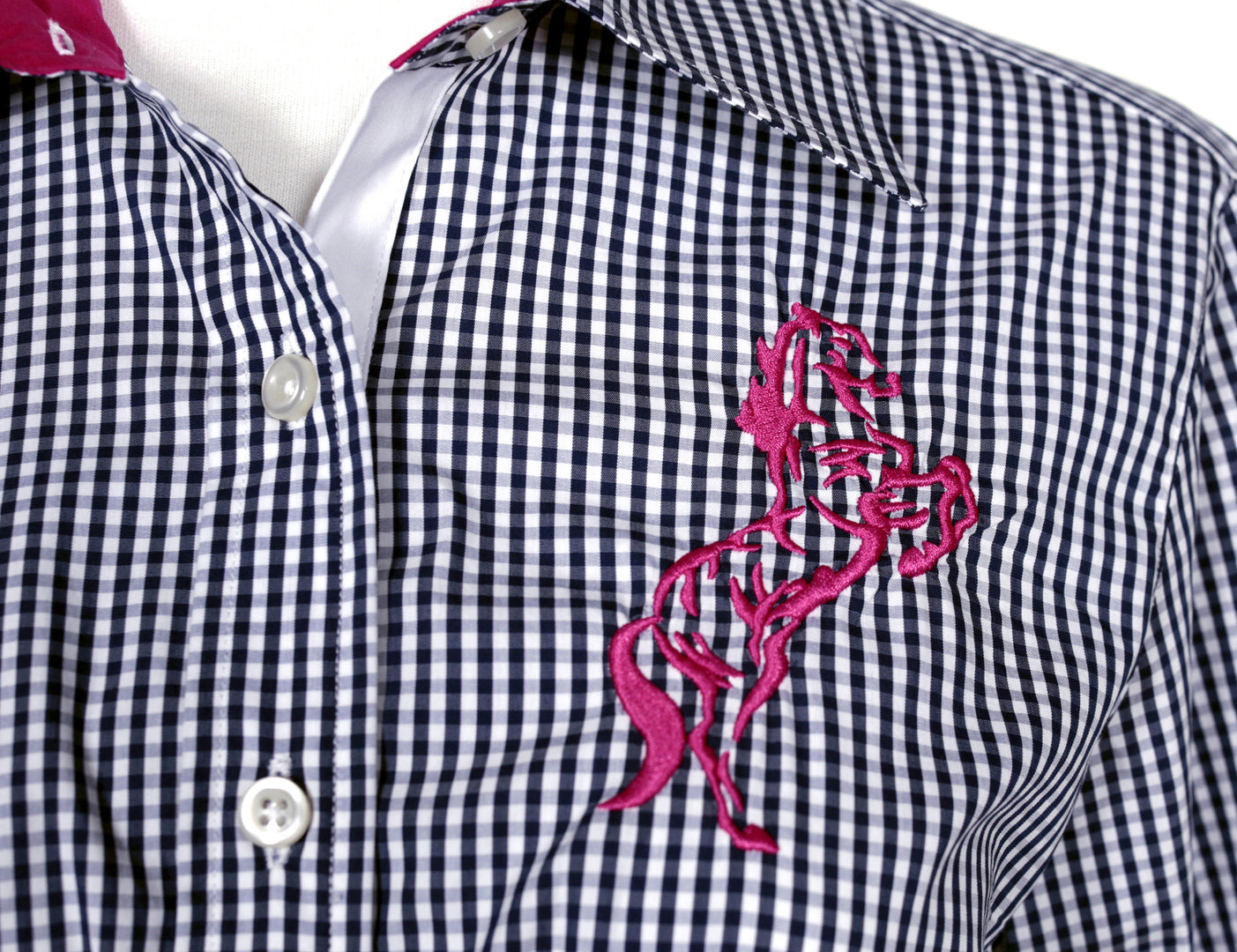 Quintessential Ladies Gingham Shirts
