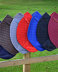 High Wither Saddle Pads made in the UK - Red Scarf Equestrian Lifestyle