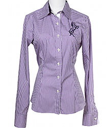Competition Riding Shirts Quintessential Gingham Pattern Equestrian Shirt Buy Online Red Scarf Equestrian Lifestyle
