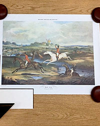 Equestrian Art Prints Hunter Scene Buy Online at Red Scarf Equestrian Canada