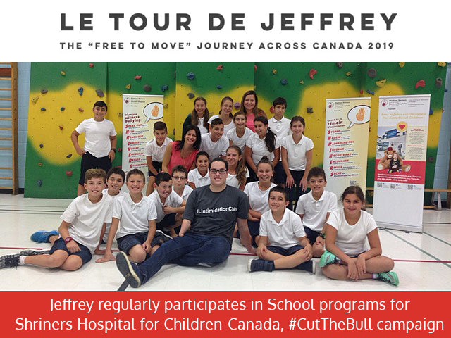 Le Tour de Jeffrey FREE TO MOVE JOURNEY Jeffrey Beausoleil