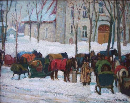 Canadian Artist The Beaver Hall Group: Kathleen Moir Morris