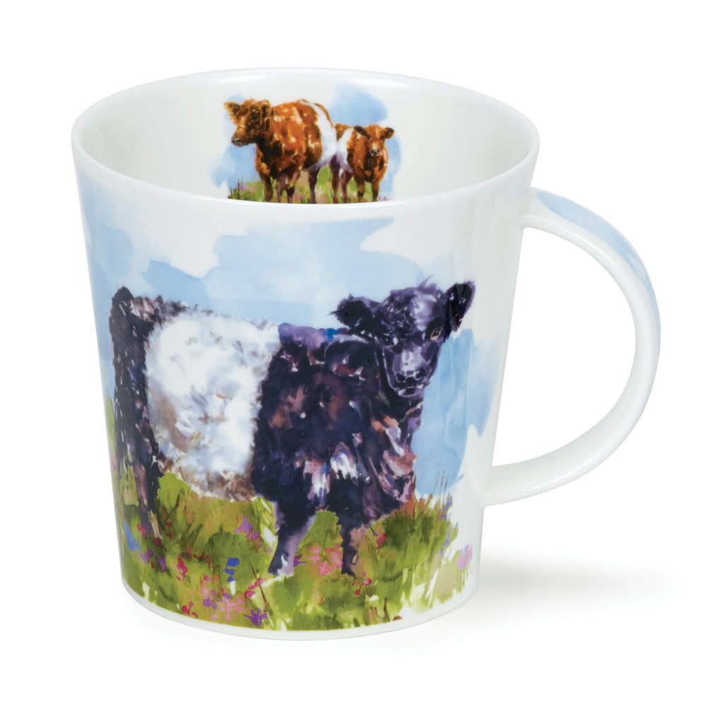 Dunoon Mugs - Belted Galloway by Harrison Ripley