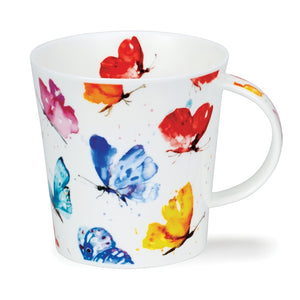 Dunoon Mugs - Flight of Fancy (Butterflies) by Jake Lewis