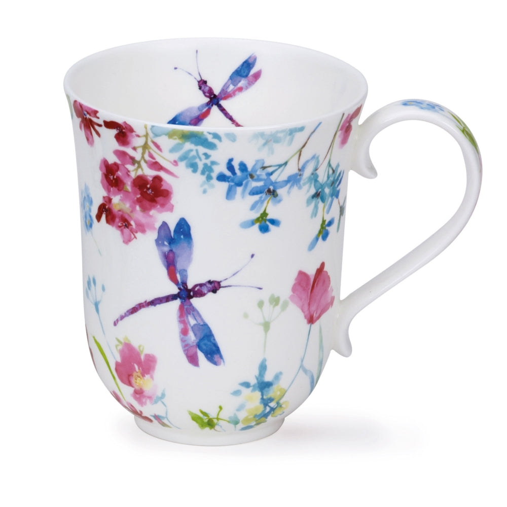 Dunoon Mugs - Zerzura (Dragonfly) by Harrison Ripley
