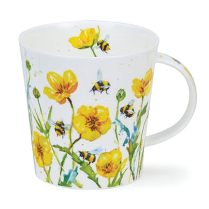 Dunoon Mugs - Busy Bees (Amongst Buttercups) by Harrison Ripley