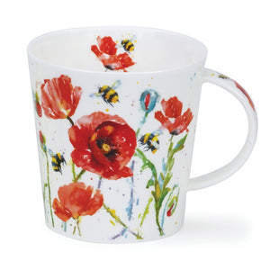 Dunoon Mugs - Busy Bees (Amongst Poppies) by Harrison Ripley